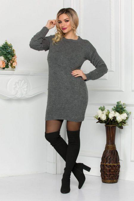 Luiss Gray Sweater