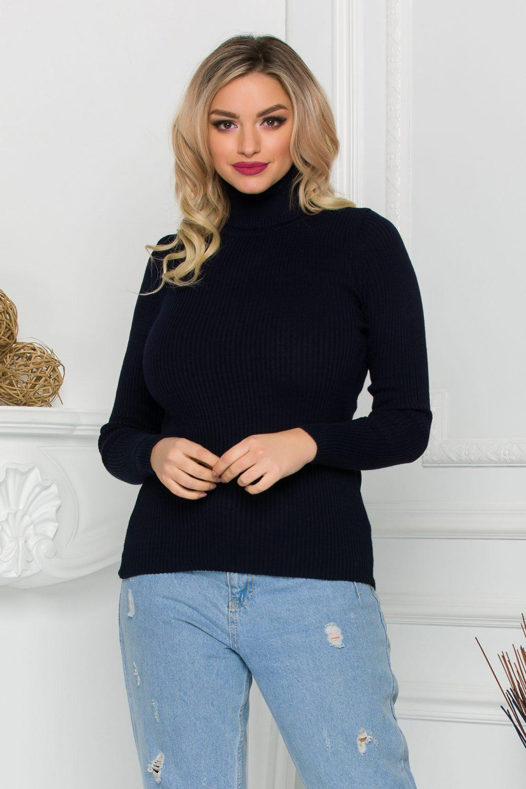 Coly Navy Sweater
