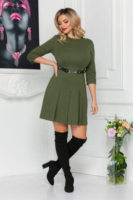 Kamia Dark Green Dress