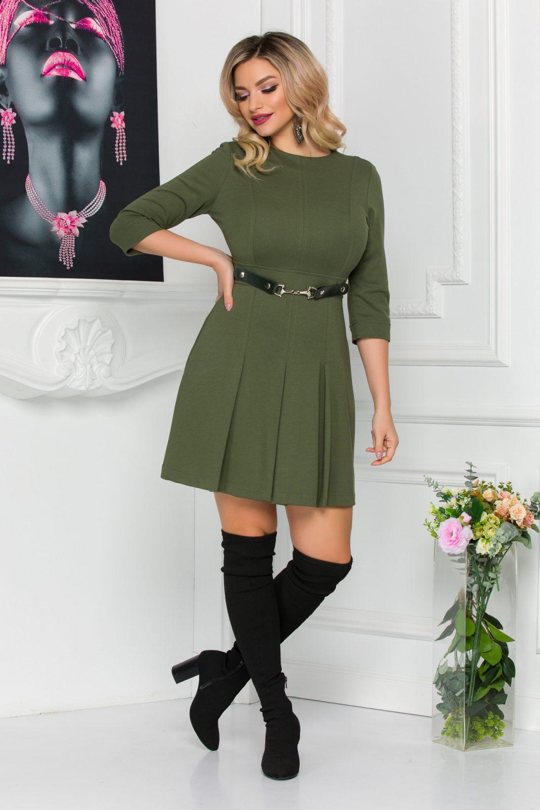 Kamia Dark Green Dress