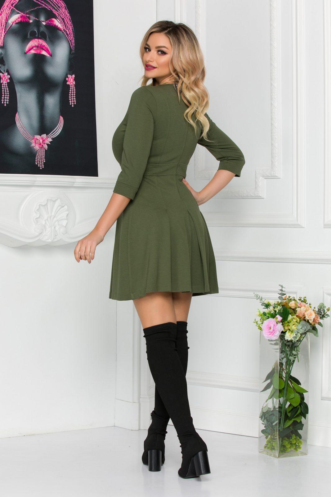 Πράσινο Φόρεμα Kamia 8805 1