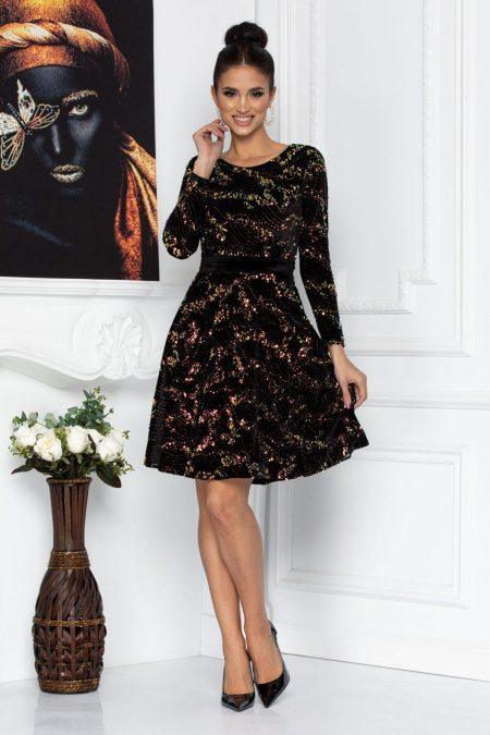 Millie Black Dress