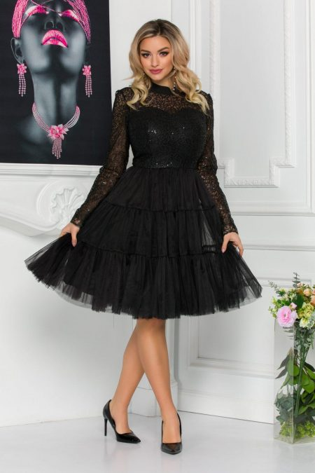 Baby Doll Black Dress