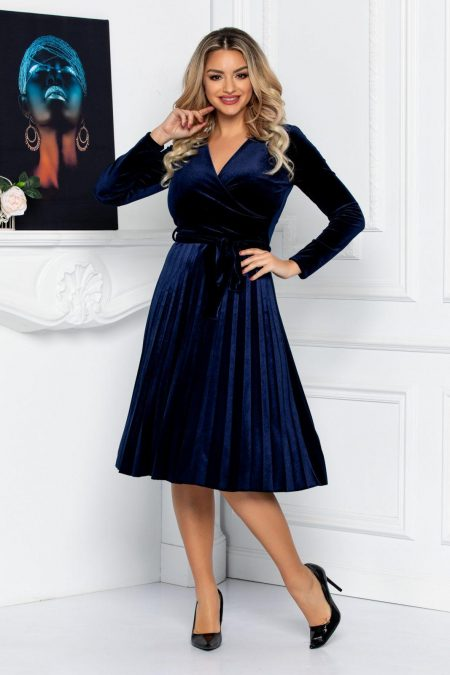 Tianna Navy Dress