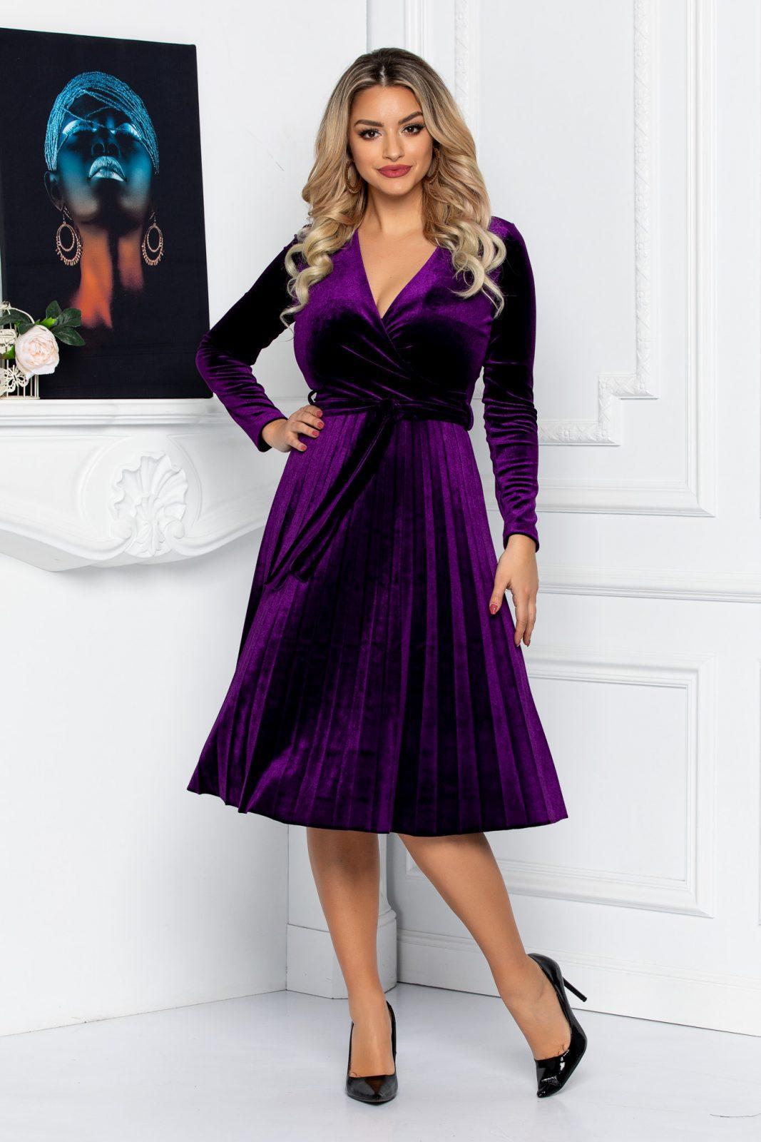 Tianna Purple Dress