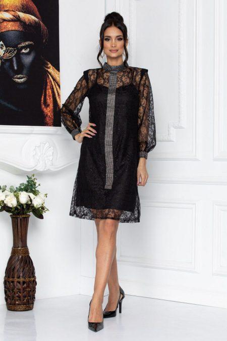 Konnie Black Dress