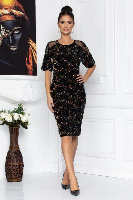 Fatima Black Dress