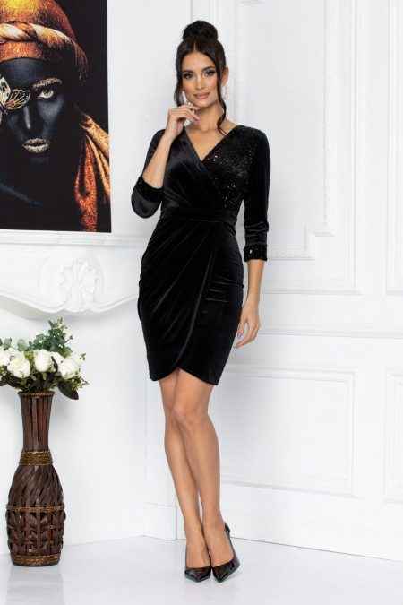 Alegria Black Dress