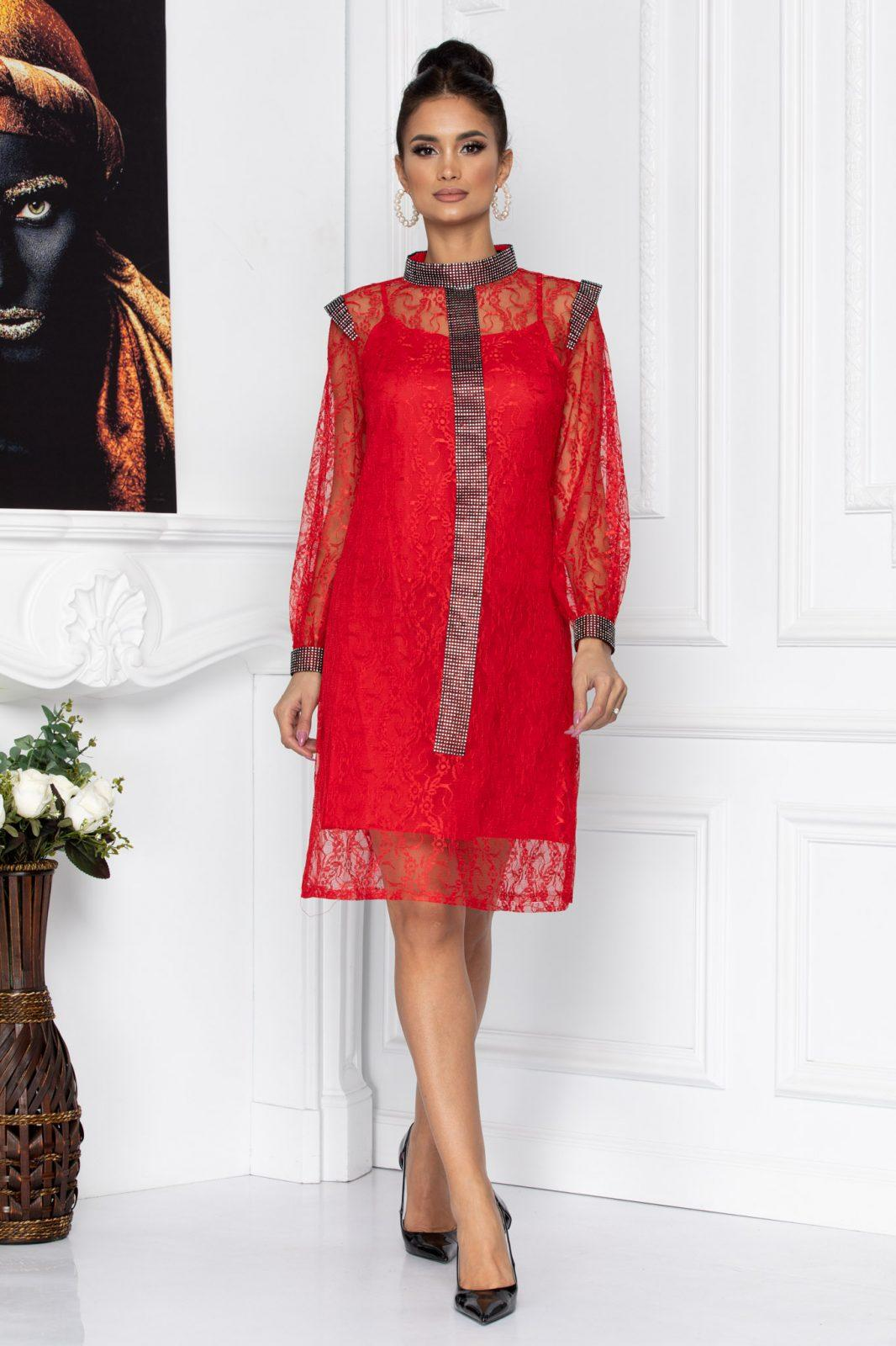 Konnie Red Dress