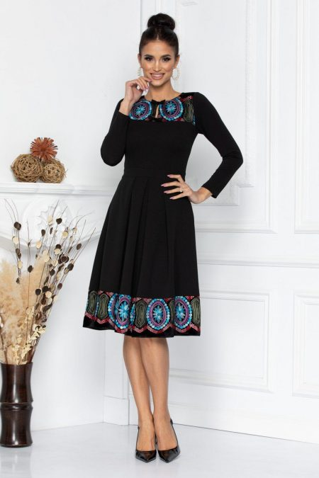 Moze Malia Black Dress