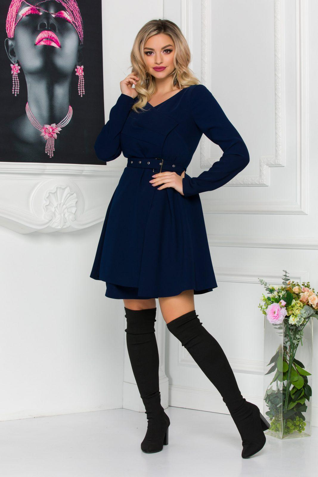 Anabell Navy Dress