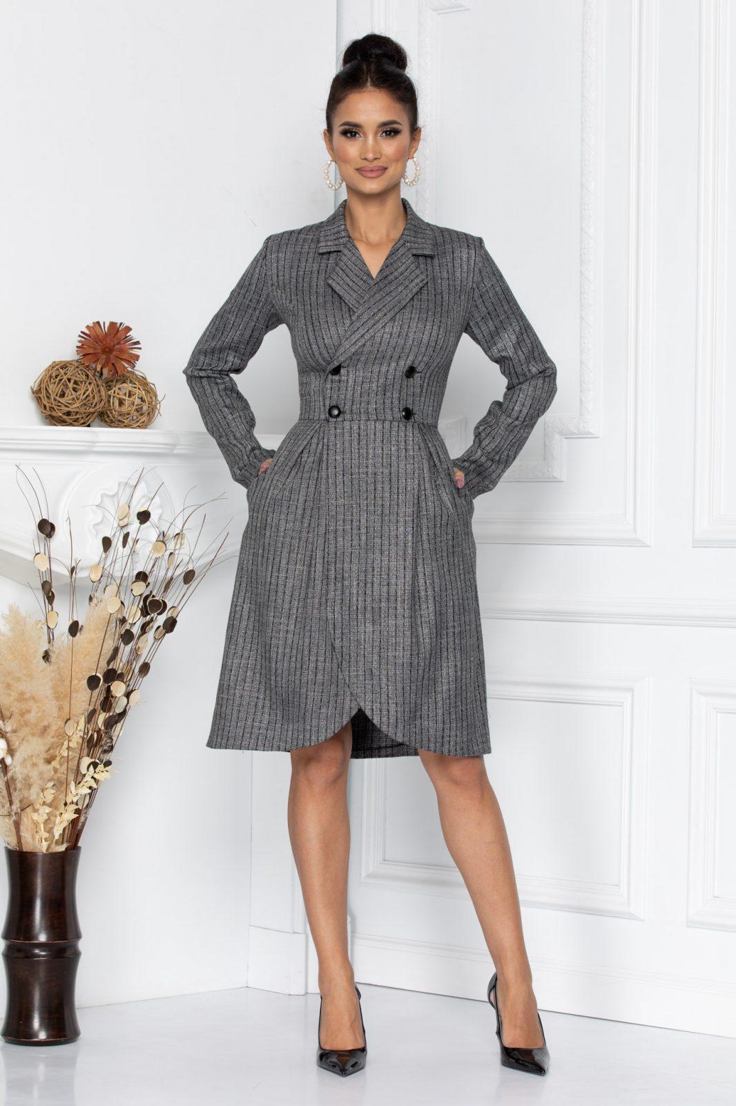 Geyla Gray Dress