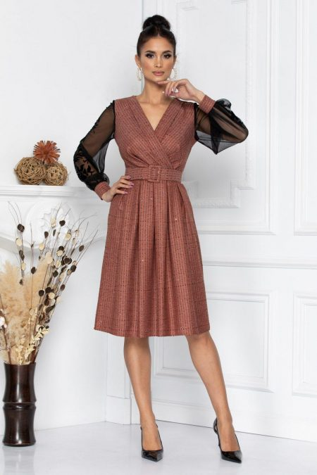Darcy Brown Dress