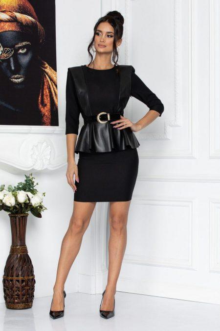 Salima Black Dress