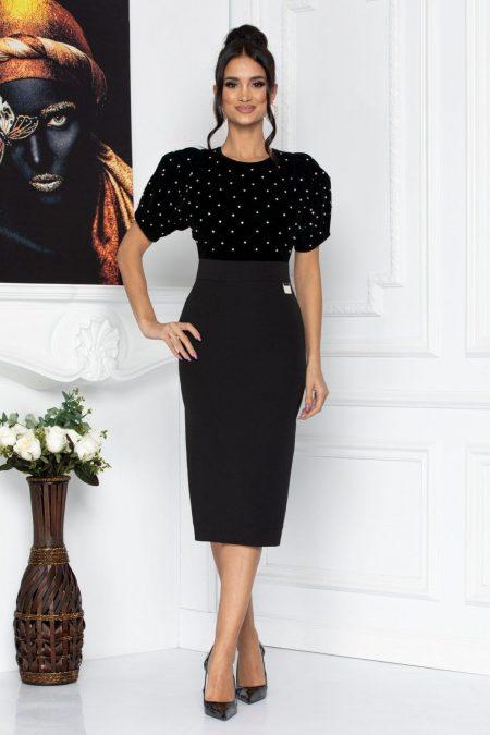 Britney Black Dress