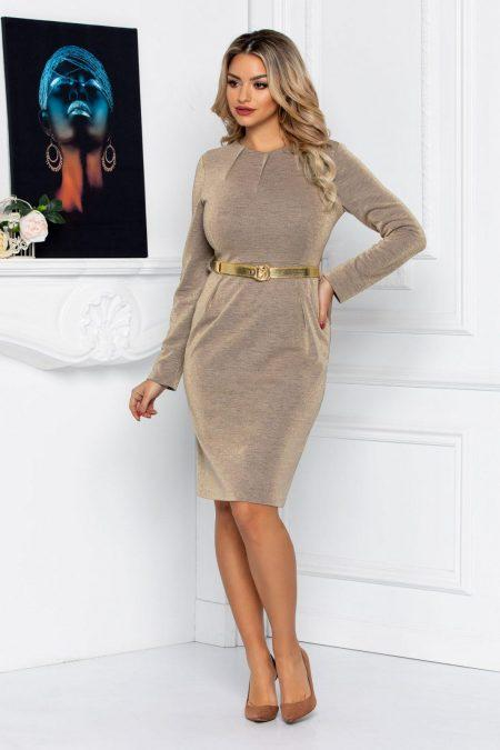 Camy Beige Dress