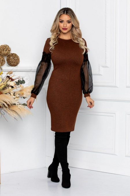 Silva Brown Dress