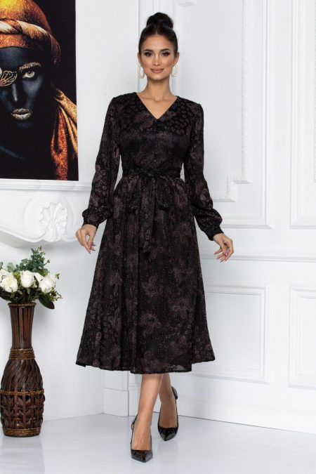 Mabel Brown Dress