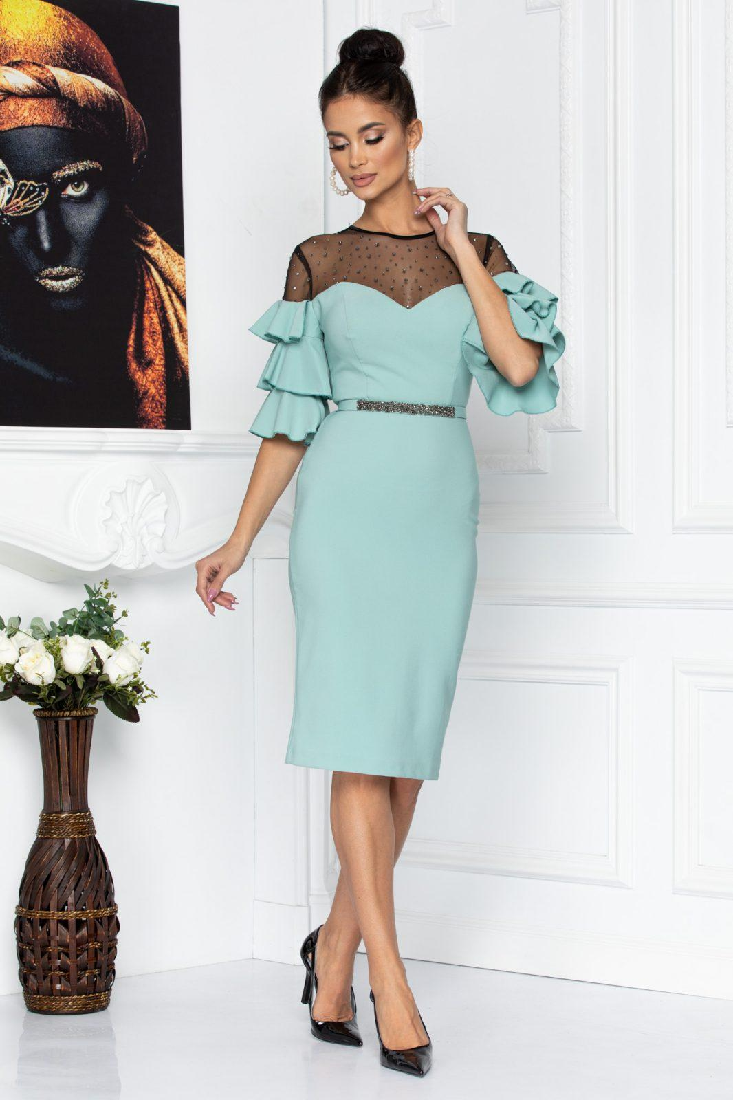 Miryam Mint Dress