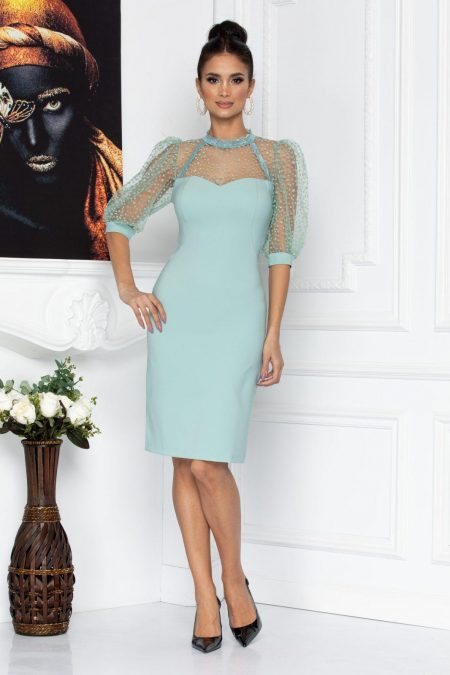 Gwenith Mint Dress