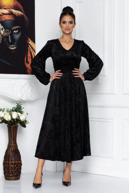 Wilma Black Dress