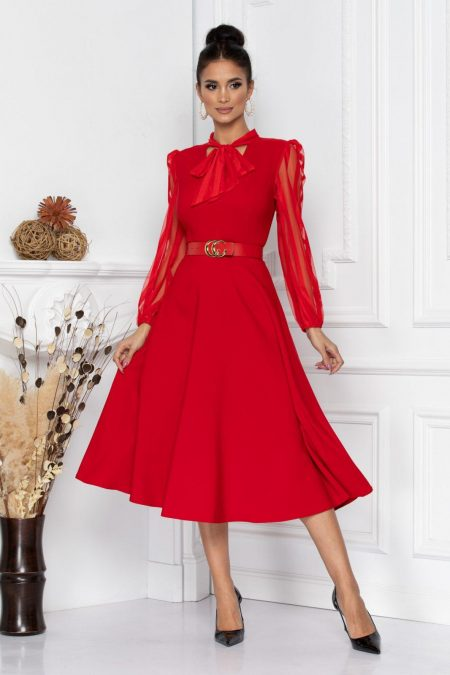Nima Red Dress