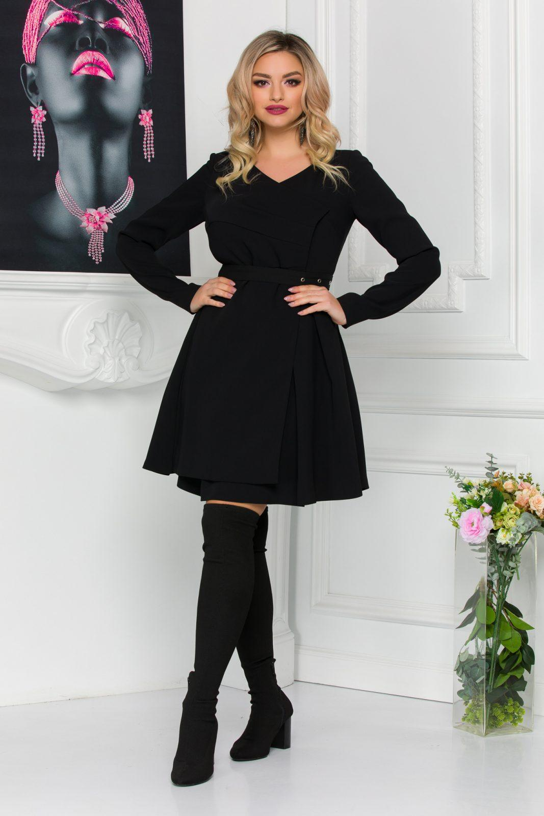 Anabell Black Dress