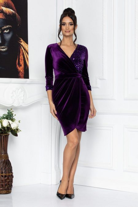 Alegria Purple Dress