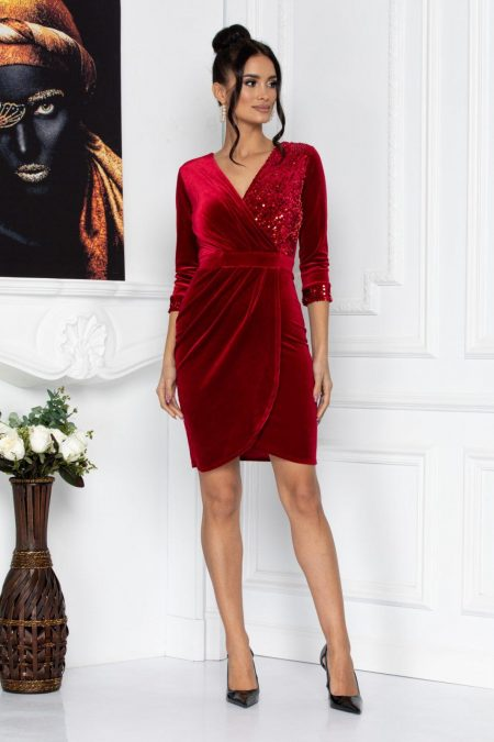 Alegria Red Dress