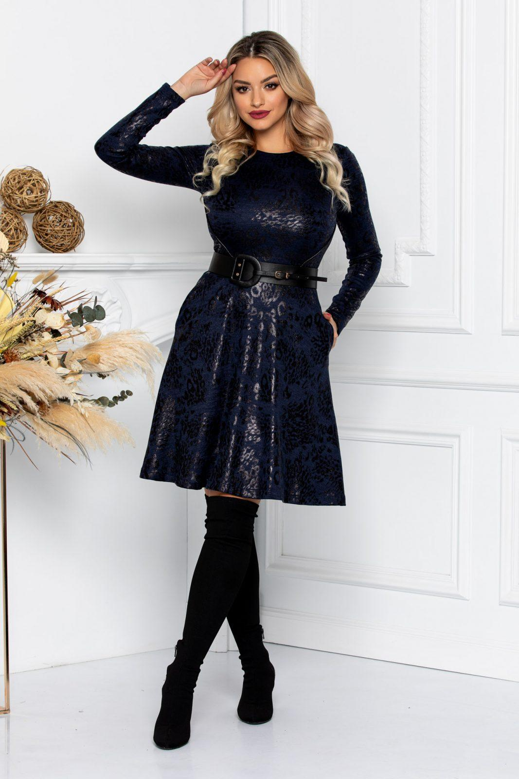 Gylda Navy Dress