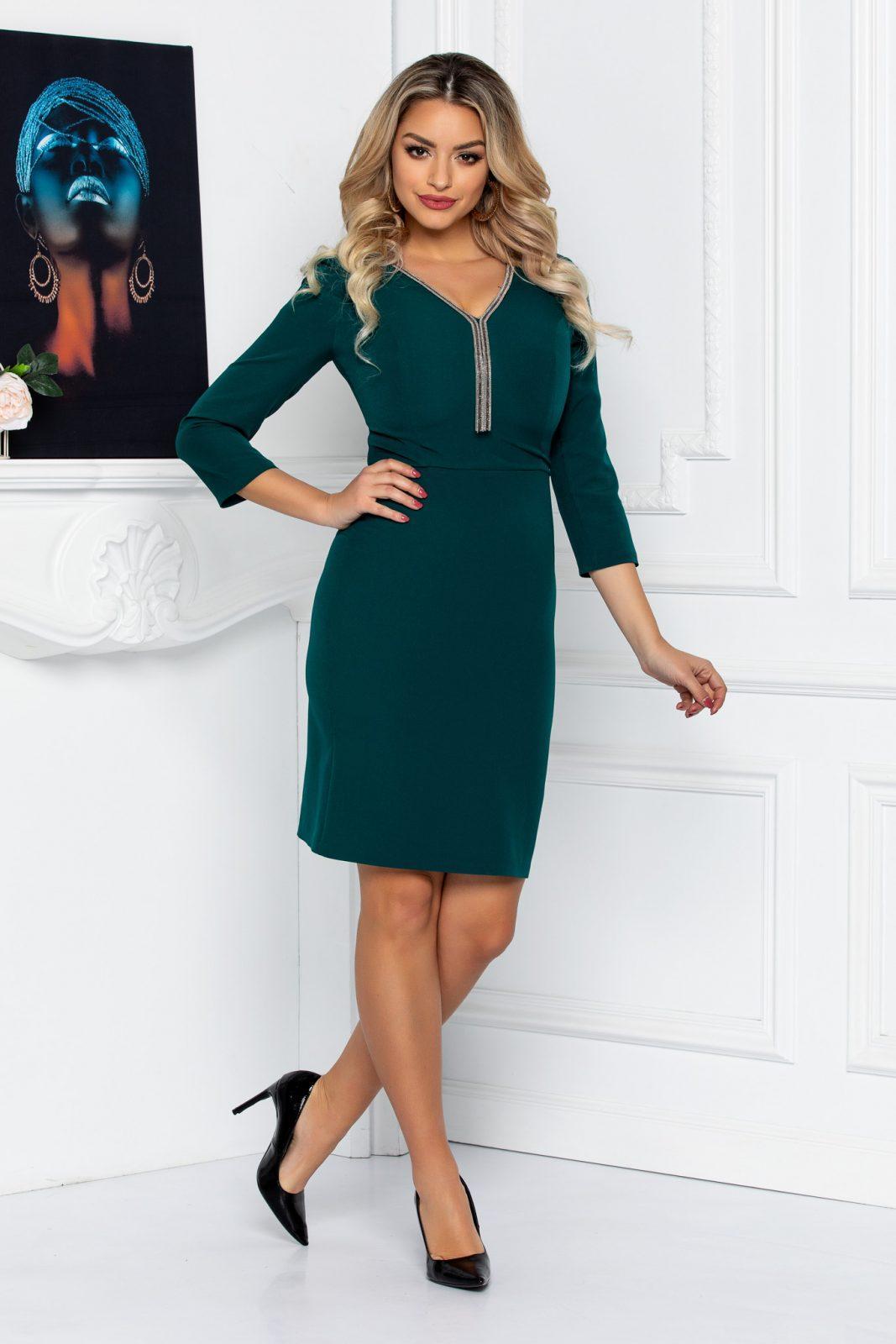 Francine Green Dress