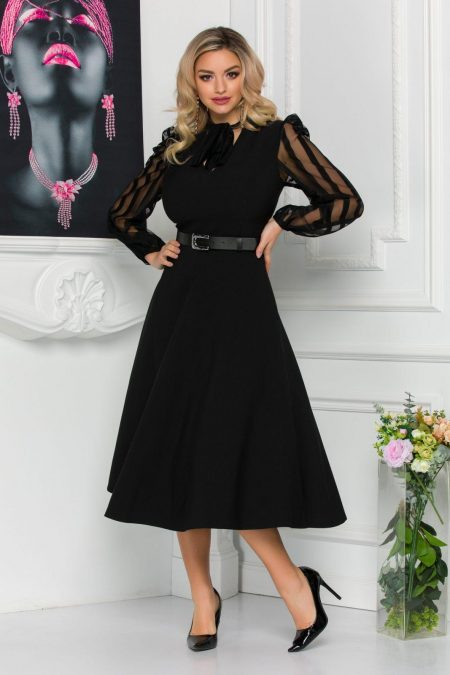 Nima Black Dress