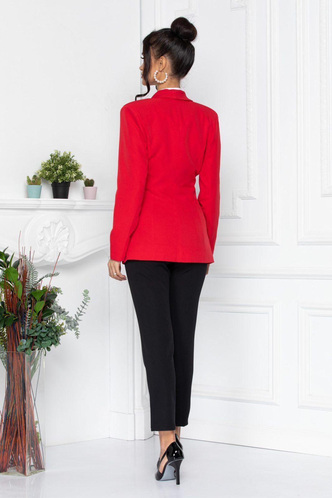Κόκκινο Σακάκι Tavy 8542 2