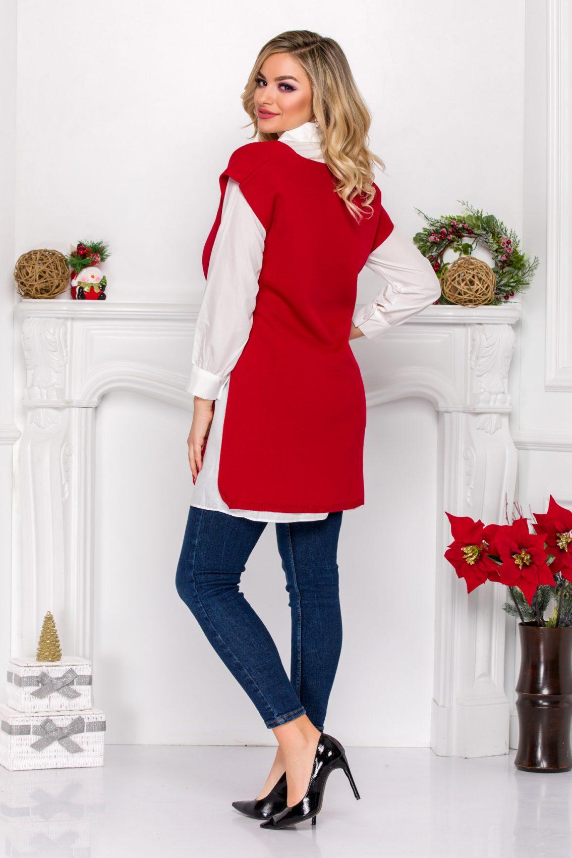 Κόκκινη Μπλούζα Brent 9097 1