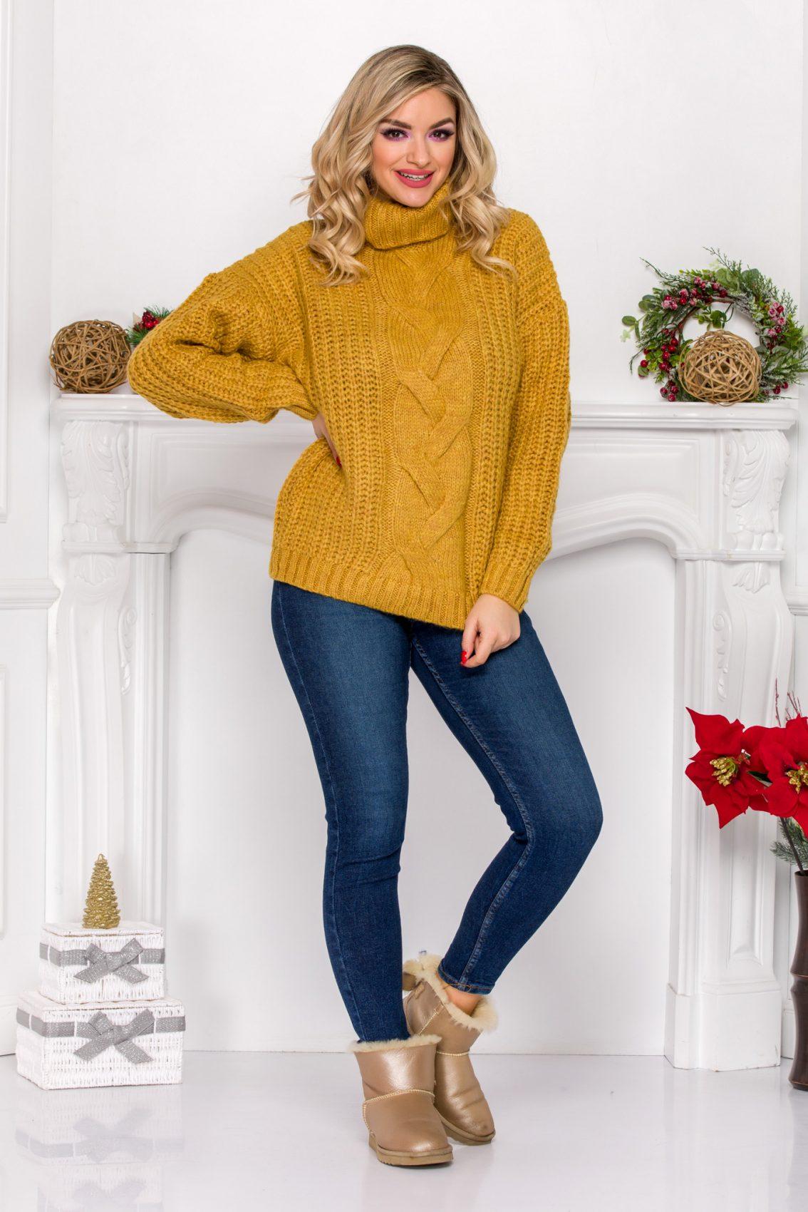 Maxx Dark Yellow Sweater
