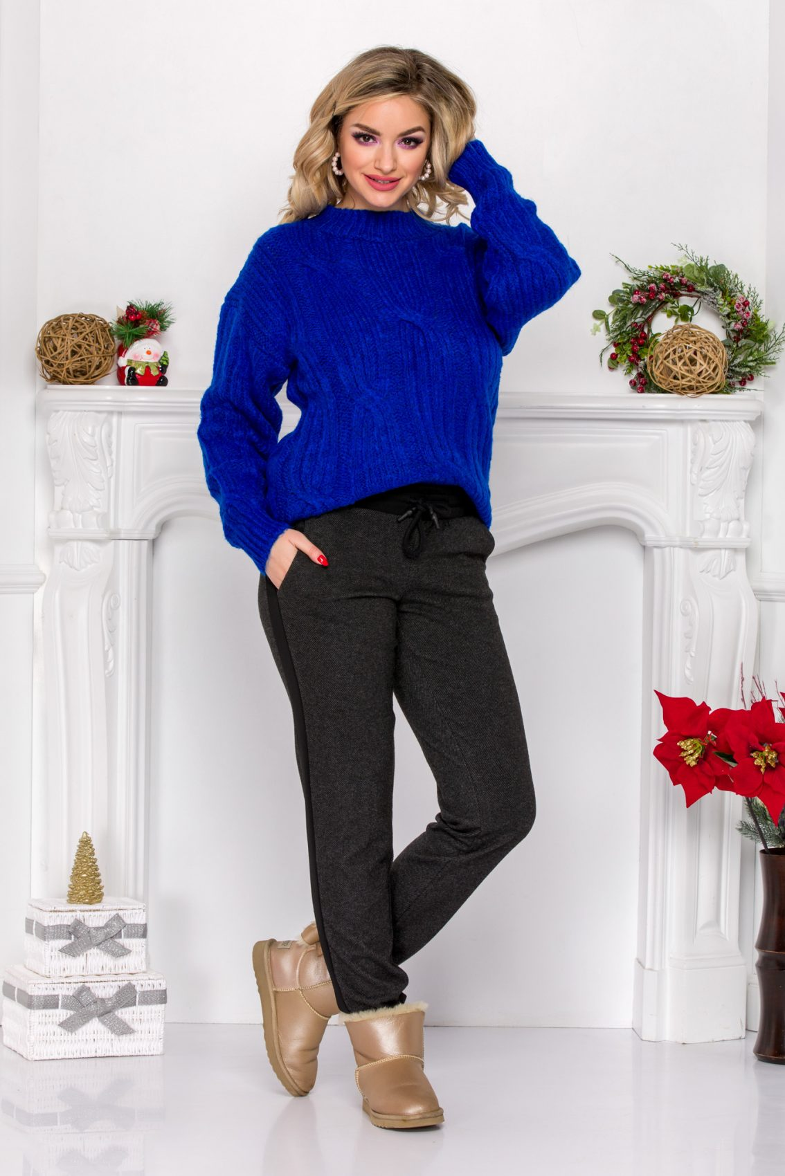 Kevo Blue Sweater
