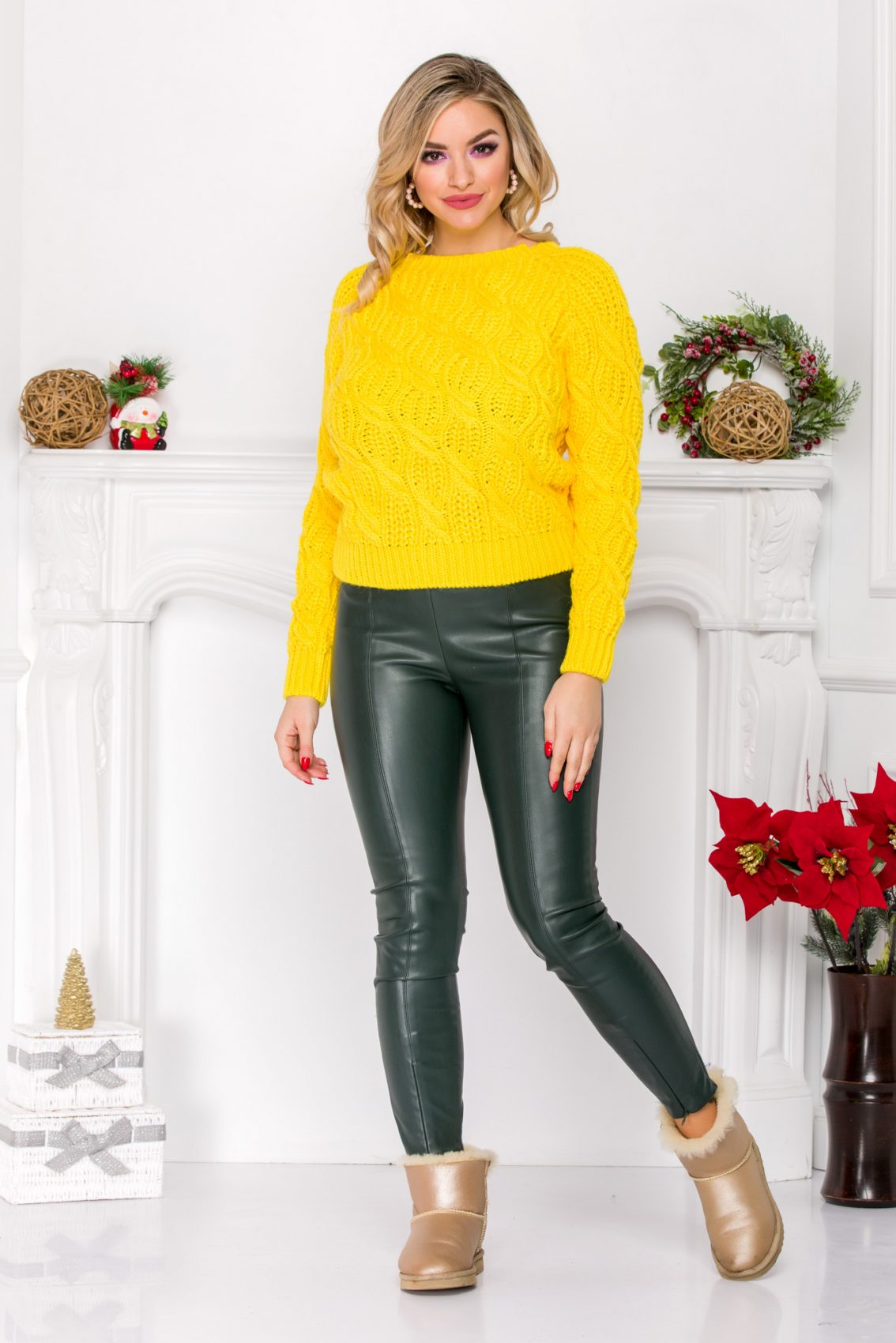 Roby Yellow Sweater