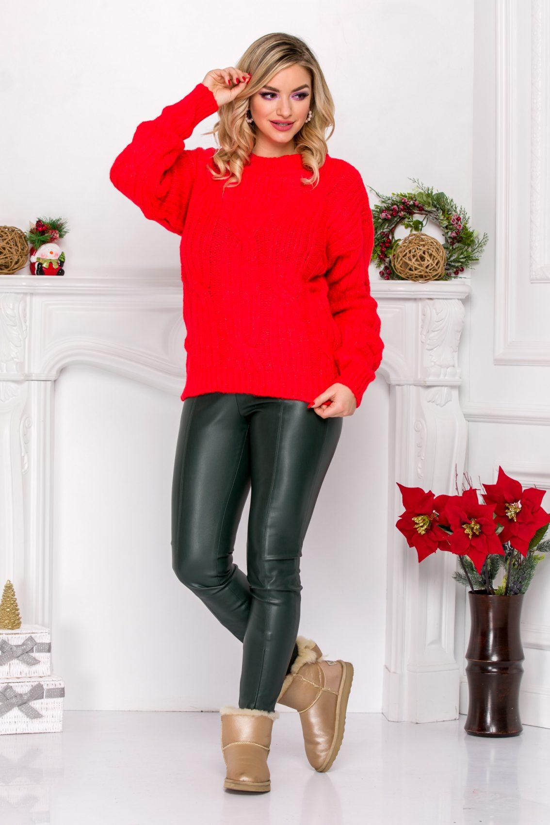 Kevo Coral Sweater