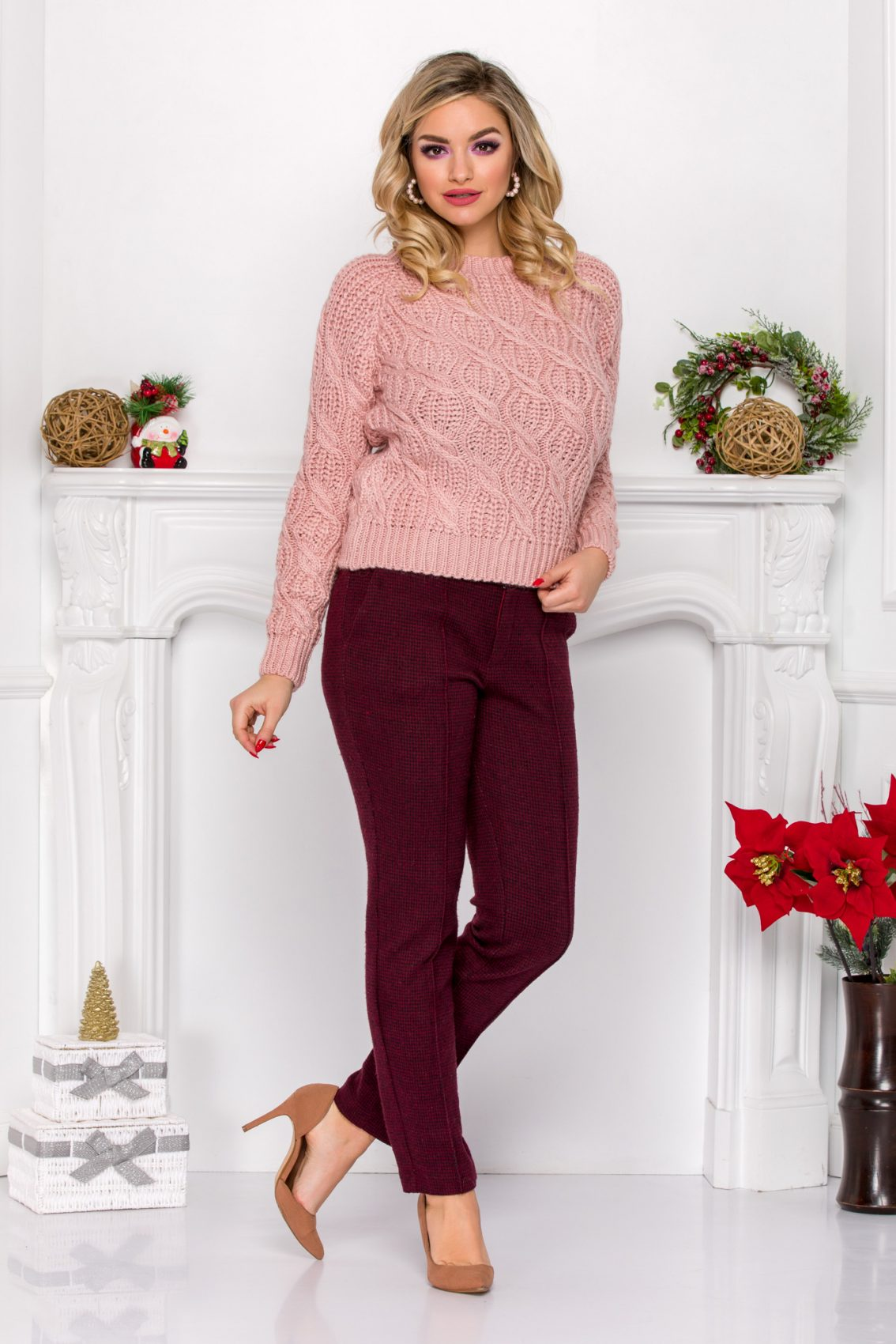 Roby Rose Sweater