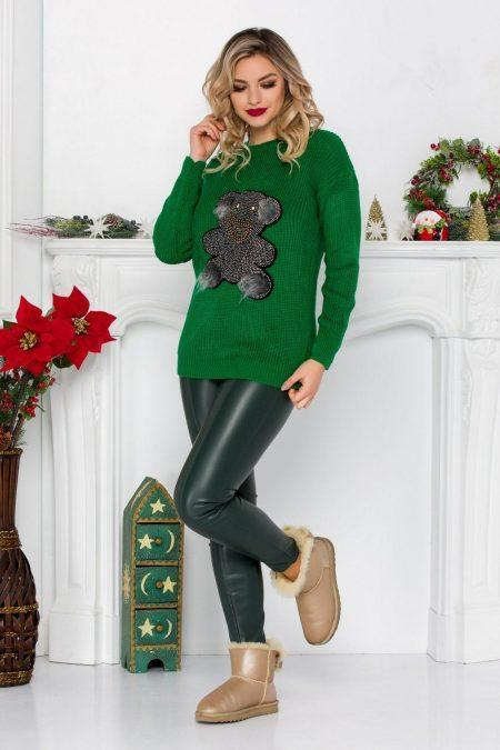 Teddy Green Sweater