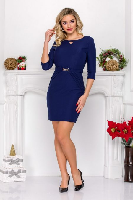 Harlett Navy Dress