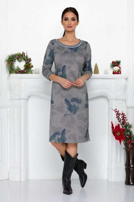 Hally Gray Dress