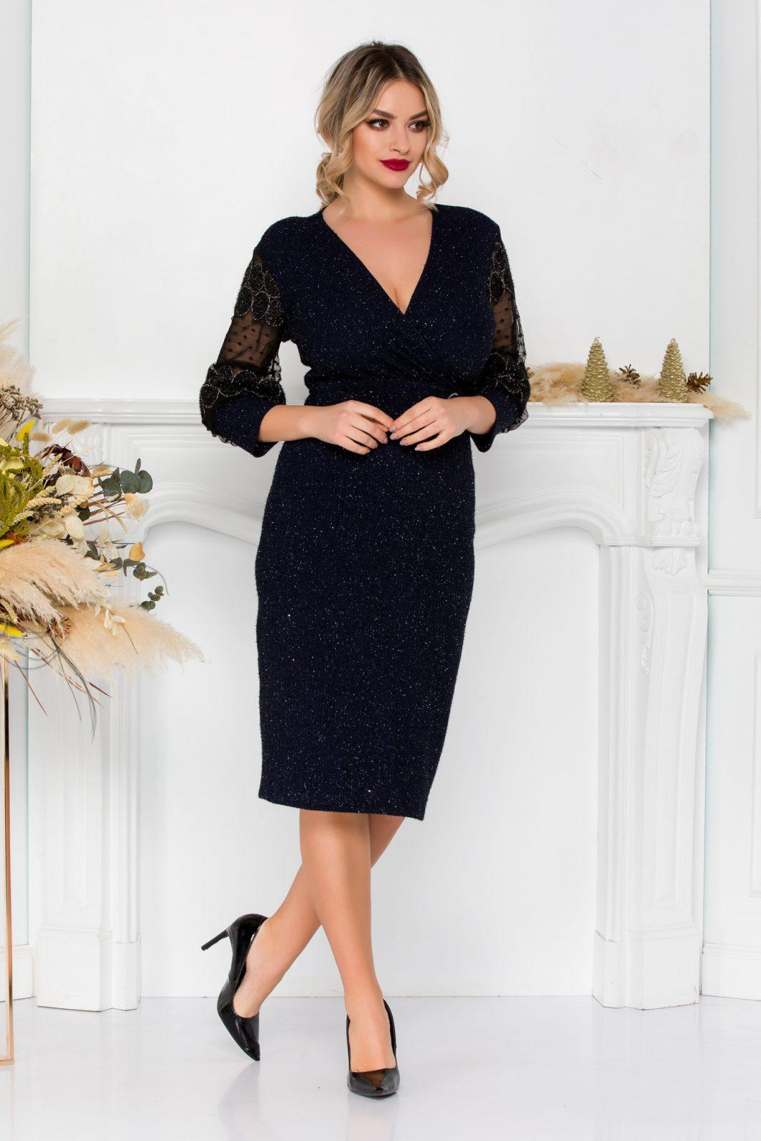 Casiana Navy Dress