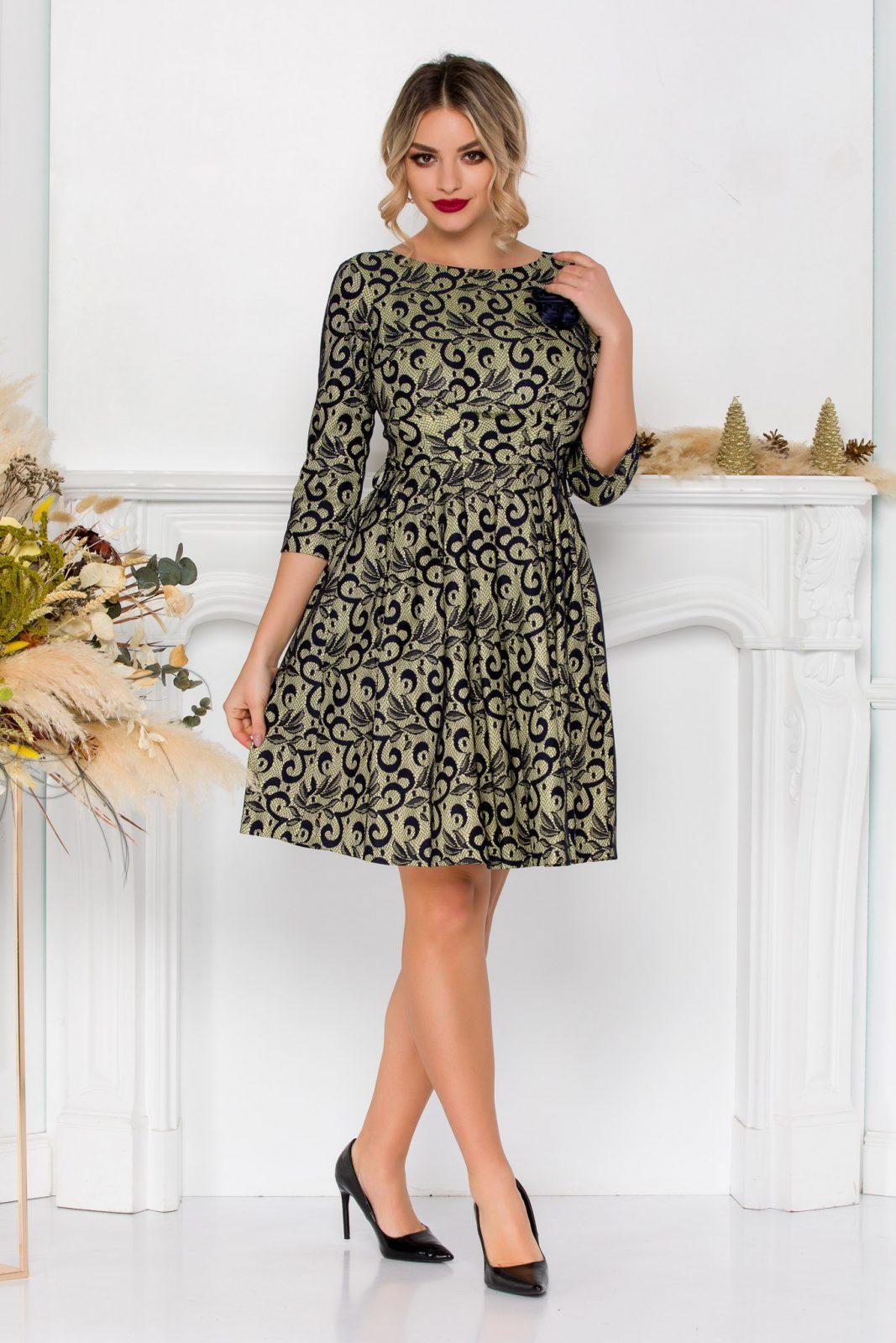 Βραδινό Φόρεμα Από Δαντέλα Ellen 8898 2