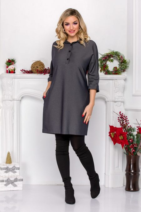 Lorina Gray Dress