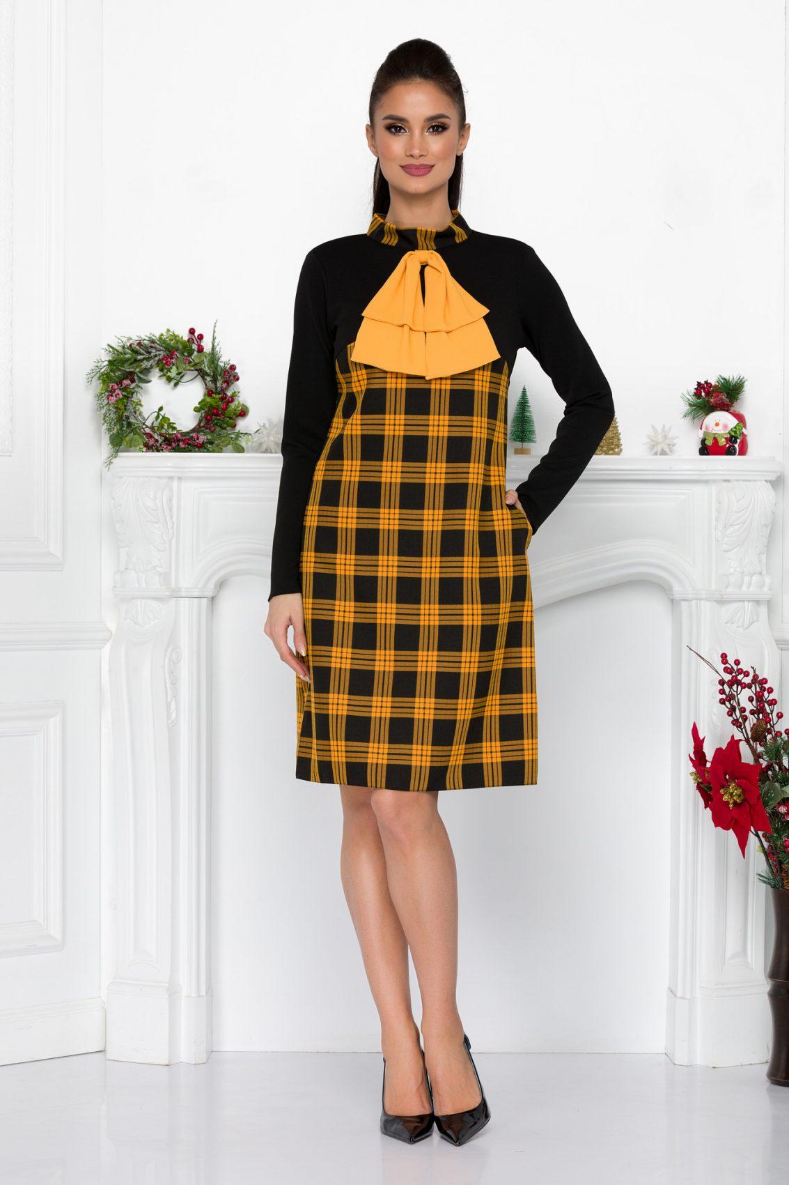 Moze Fernanda Yellow Dress