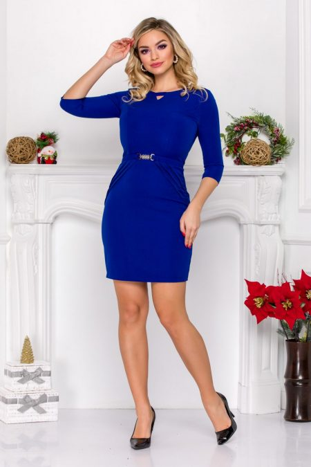 Harlett Blue Dress