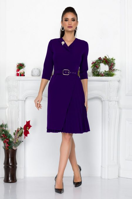 Bonnie Purple Dress