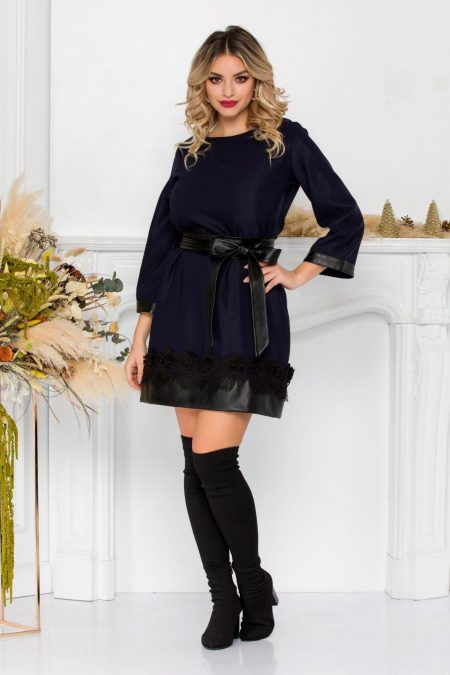 Spencer Navy Dress
