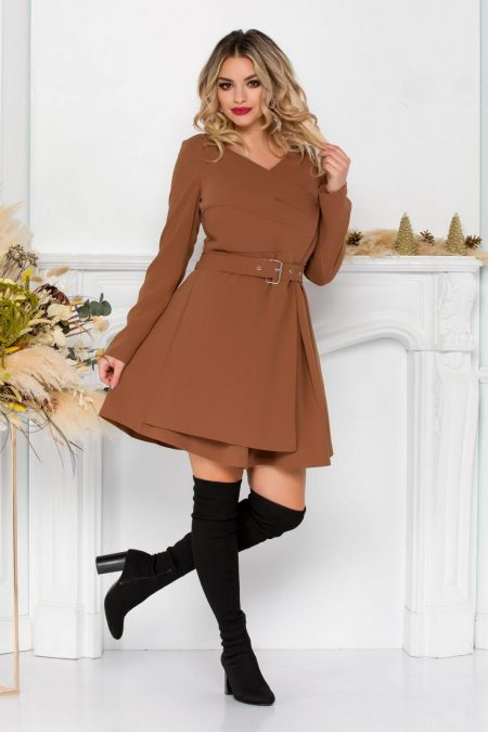 Anabell Brown Dress